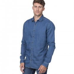 Camicia SO DENIM SD040 Uomo Jack Denim Shirt 100%C Manica lunga