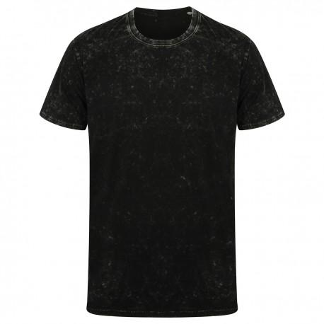 T-Shirt SKINNIFIT SKSF203 Unisex Unisex Washed Band T 100%C Manica corta,Setin