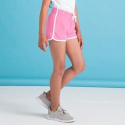 Pantaloni SKINNIFIT SKSM069 Unisex,Bambino Kids Retro Shorts 100%C