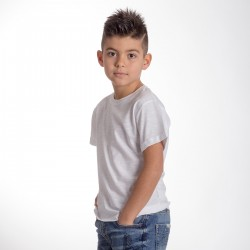 T-Shirt BS SLUBK01 Bambino T-SHIRT BIMBO 100%C SLUB Manica corta,Setin