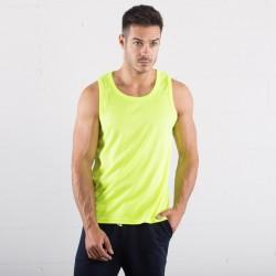T-Shirt SPRINTEX SP103 Unisex,Uomo Running Tank Top 100%P Senza maniche,Setin