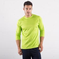T-Shirt SPRINTEX SP104 Unisex,Uomo Run T LSL 100%P Manica lunga,Raglan