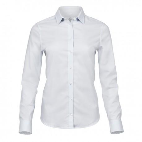Camicia TEE JAYS TJ4025 Donna Ladies Luxury Shirt 96%C 4%L Manica lunga