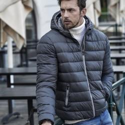 Giacca TEE JAYS TJ9634 Uomo Hooded Zepelin Jacket 100%N Manica lunga