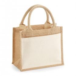 Borsa WESTFORD MILL W425 Unisex Cot Pock Jute Gift Bag, 100%C