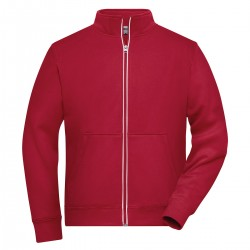 Felpa JAMES & NICHOLSON JN1810 M DoubleF Work Jacket 55%P45%C