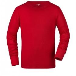 T-Shirt JAMES & NICHOLSON JN916 Uomo MEN T-SHIRT SOFT M/L 100%C Manica lunga,Setin