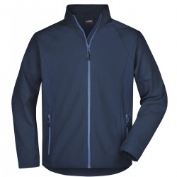 Soft shell JAMES & NICHOLSON JN1020 Uomo MEN SOFTSHELL 90%P 10%E J&N Manica lunga