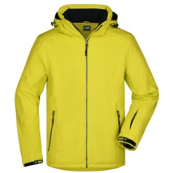 Soft shell JAMES & NICHOLSON JN1054 Uomo MEN WINTERSPORT JACK 92%P8%E Manica lunga