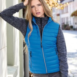 Giacca JAMES & NICHOLSON JN1137 Donna Ladies' Down Vest 100% P Senza maniche