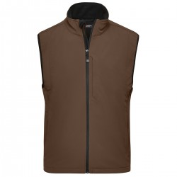 Soft shell JAMES & NICHOLSON JN136 Uomo MEN SOFTSHELL VEST 95%P 5%E Senza maniche
