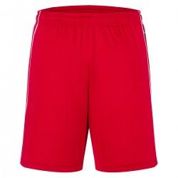 Pantaloni JAMES & NICHOLSON JN387 Unisex,Uomo BASIC TEAM SHORTS 100%P J&N