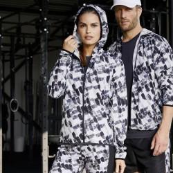 Giacca JAMES & NICHOLSON JN533 Donna Ladies' Sports Jacket 100%P Manica lunga