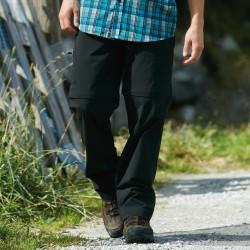Pantaloni JAMES & NICHOLSON JN583 Uomo MEN ZIP-OFF PANTS 94%P 6%E