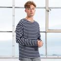 T-Shirt MANTIS MAM136 Unisex,Uomo Breton top 100% OCS Setin