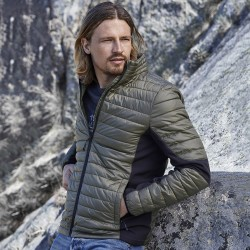 Giacca TEE JAYS TJ9626 Uomo Crossover Jacket 100%P Manica lunga