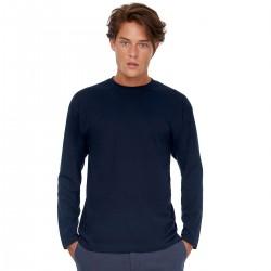 T-Shirt B&C BCTU003 Unisex,Uomo EXACT150LS 100% C.145 G. M/L Setin