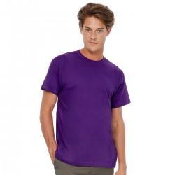 T-Shirt B&C BCTU004 Unisex,Uomo EXACT190 T-SH 100%C.185G.M/C Setin
