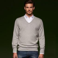 Maglieria JAMES & NICHOLSON JN664 Uomo Men's Pullover V 70%C 25%S 5%C Manica lunga