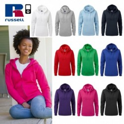 FELPA RUSSELL AUTHENTIC CON CAPPUCCIO DONNA JE265F