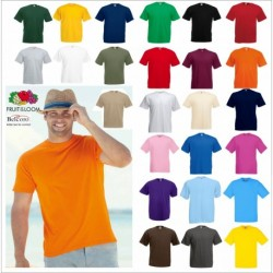 T-SHIRT ADULTO FR610360 FRUIT VALUEWEIGHT 100% COTONE MANICA CORTA