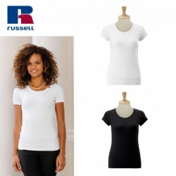 T-SHIRT MANICA CORTA SHORT SLEEVE SCOOP JE991F RUSSELL
