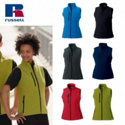 GILET RUSSELL WOMAN SOFT SHELL JE141F DONNA