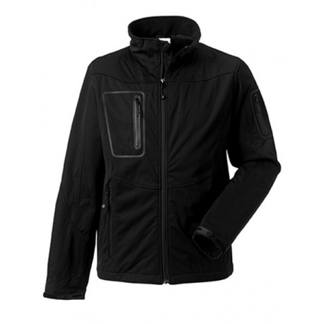 GIUBBOTTO MAN ACTIVE SOFTSHELL JE520M UOMO RUSSELL