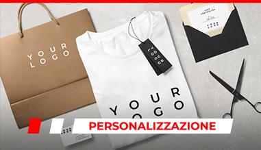 personalizzazione abbigliamento e gadget