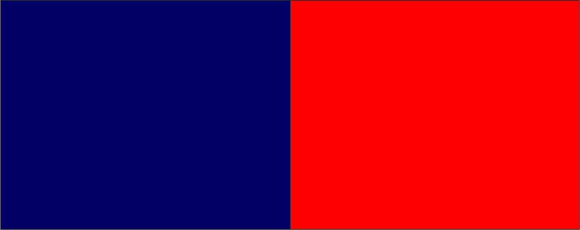 Blu Navy/rosso