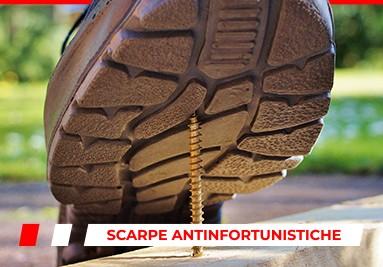 Scarpe da Lavoro S1 e S3 antinfortunistiche