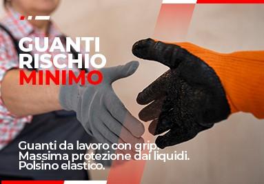 Guanti da lavoro rischio minimo