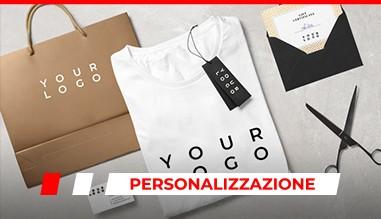 Personalizzazione abbigliamento gadget